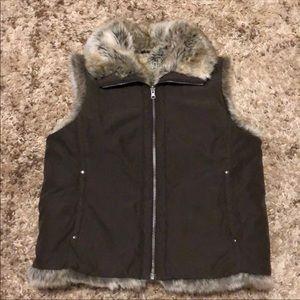 Weatherproof Garment Co Faux fur vest
